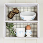 3 piece ceramic set rabbit design