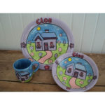 house theme ceramics