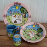 picnic theme ceramics