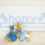 bespoke towel for harry