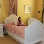 girls bedroom with bespoke decoration