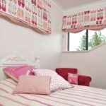 girls bedroom in pink colours